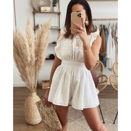 Combishort broderie anglaise - Hyliah