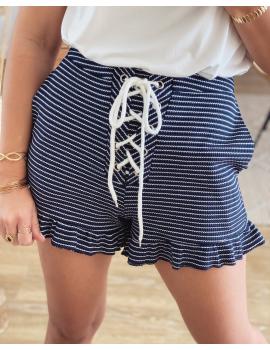 Short marinière à lacets - Tomy