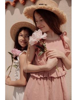 Robe coton à volants - Mini Jane
