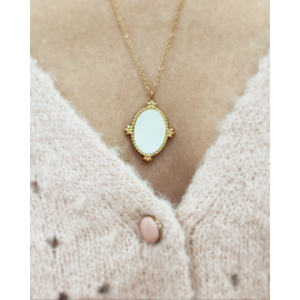 Collier triple rang - Amour