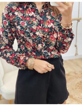 Chemise à fleurs - Maélie