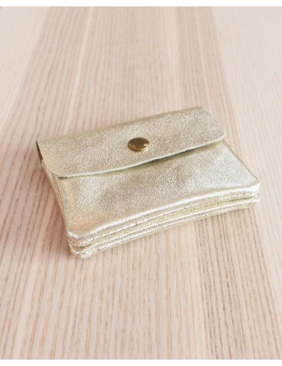 Petit porte monnaie - Gold