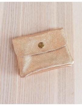 Petit porte monnaie - Rose gold