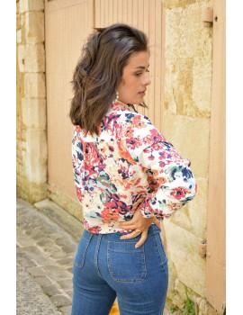 Chemise à fleurs - Emy