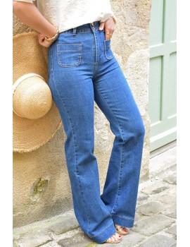 Jean wide leg brut - Simon